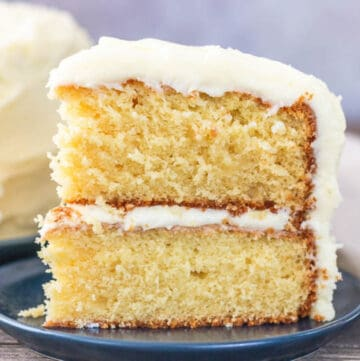 french vanilla cake featured image