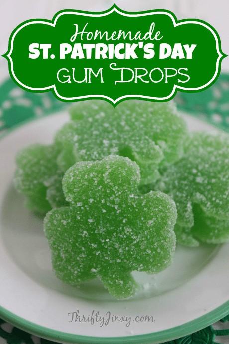 St. Patricks Day Gum Drops