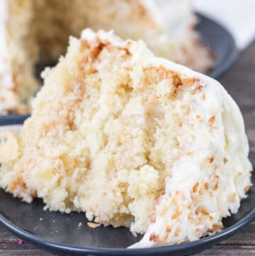 coconut pineapple cake featured image