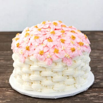 basketweave cake featured image