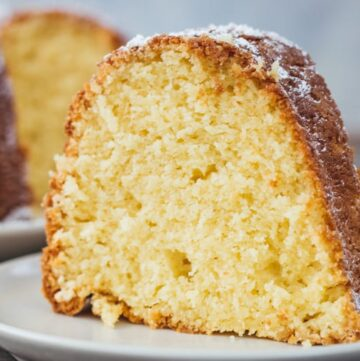 Easy Cream Cheese Pound Cake-9