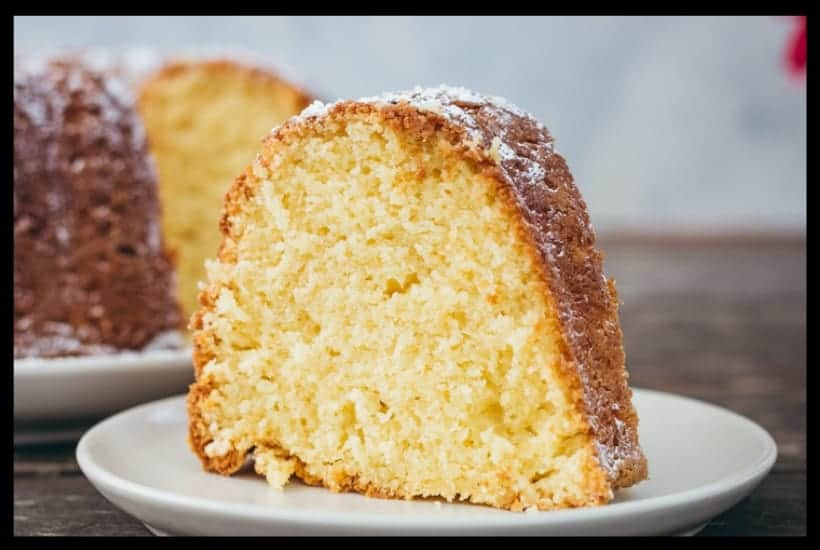 Easy Cream Cheese Pound Cake Featured Image