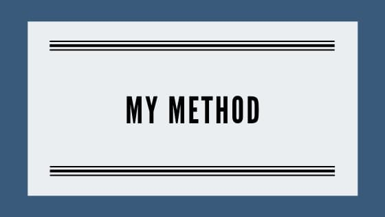 my method graphic