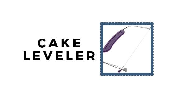 cake leveler graphic