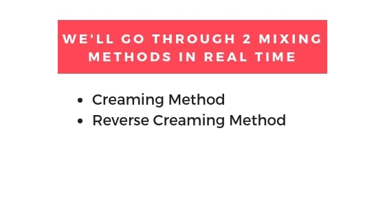 mixing methods in the video graphic