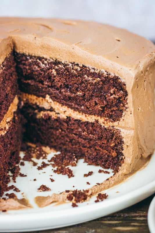Chocolate Butter Cake - I Scream for Buttercream