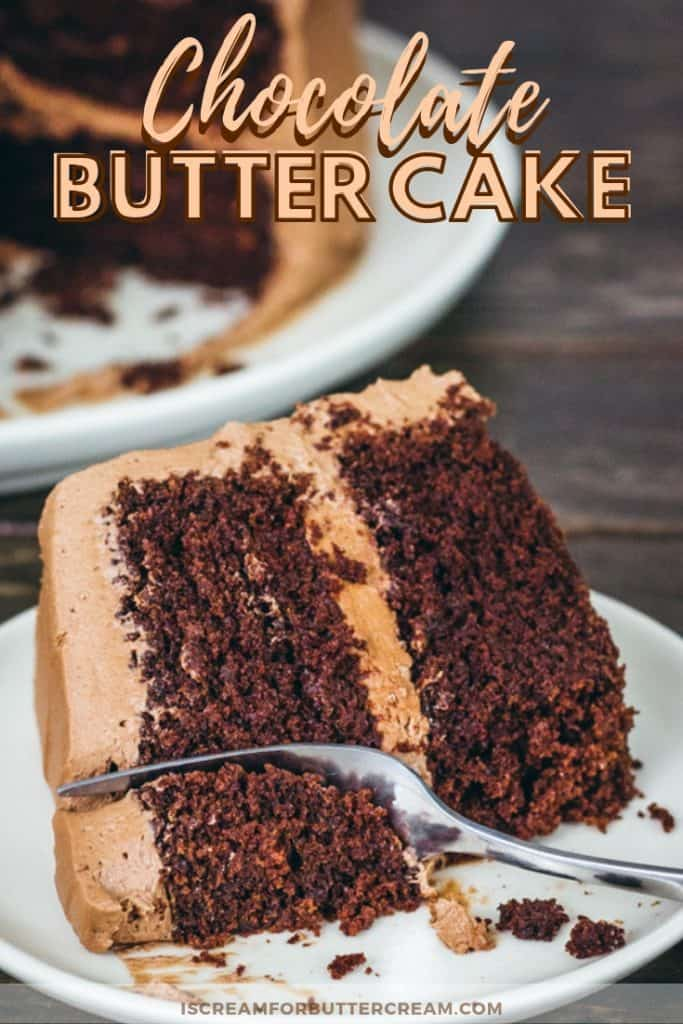 Chocolate Butter Cake New Pinterest Graphic 3