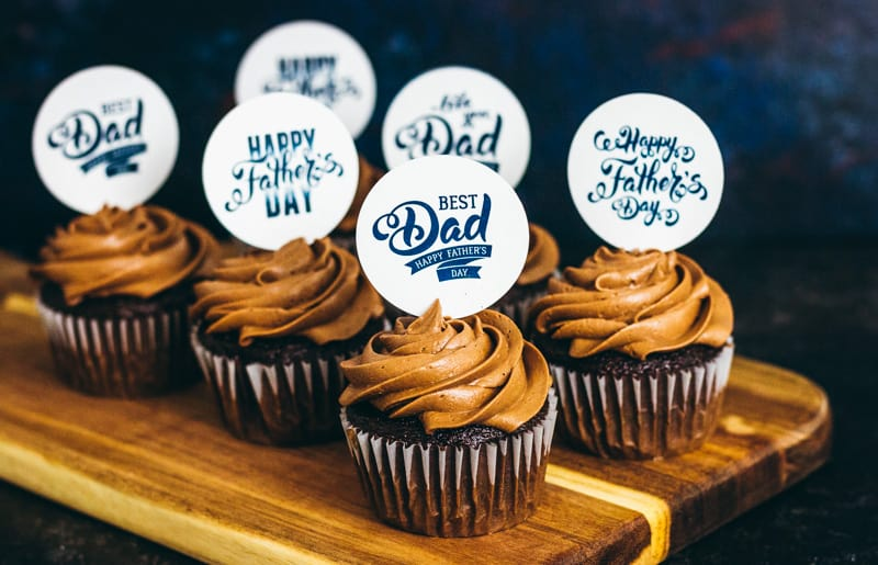 Father S Day Cupcake Topper Free Printables I Scream For Buttercream