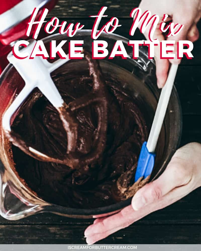 How to Mix Cake Batter Blog Image