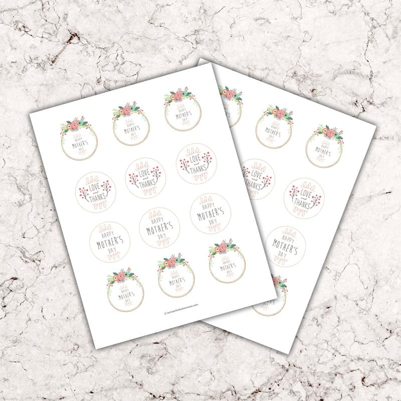 cupcake toppers graphic