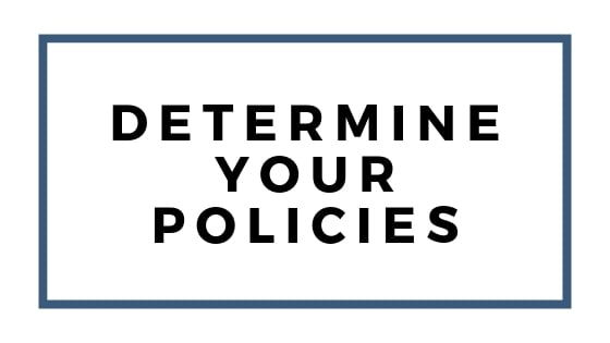determine policies graphic