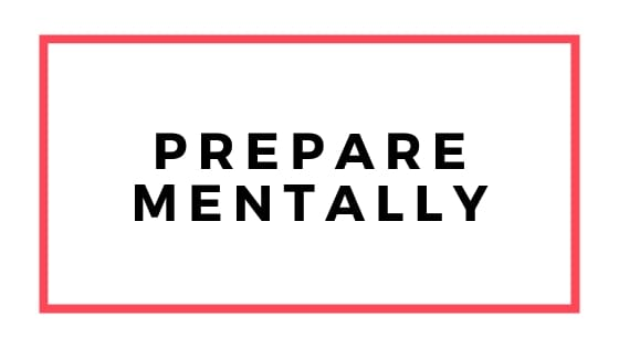 prepare mentally graphic