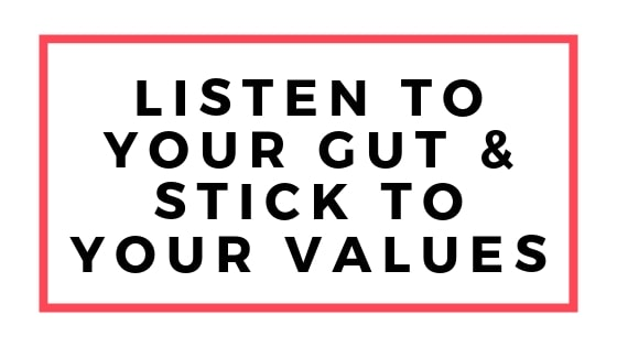 listen to your gut graphic