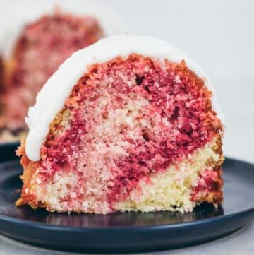 lemon raspberry cake featured image
