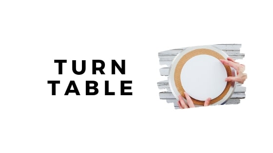 turn table graphic