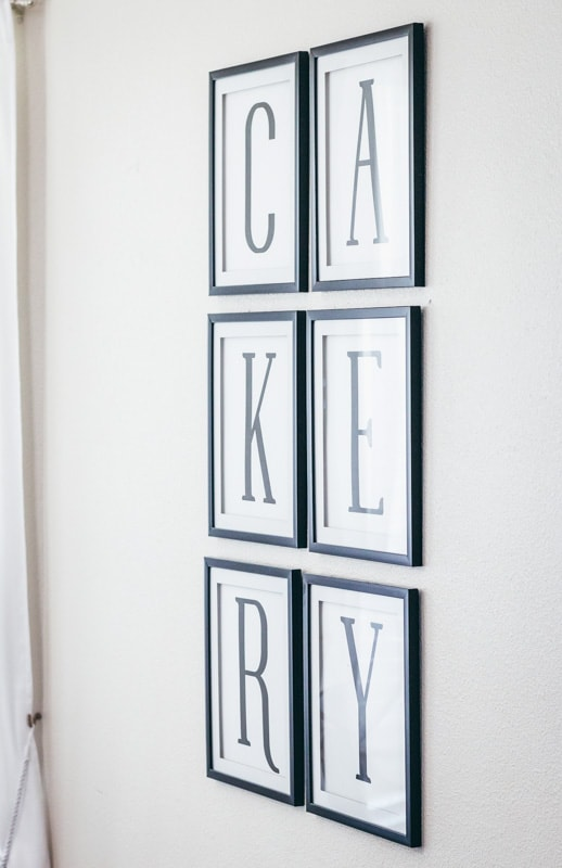 cakery kitchen printable close up