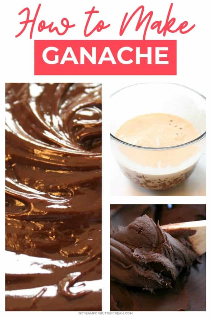 How to make ganache pin graphic 1