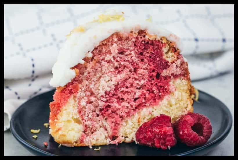 lemon raspberry cake featured image