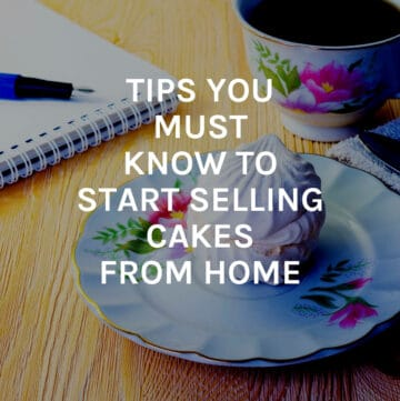tips to start selling cakes featured image