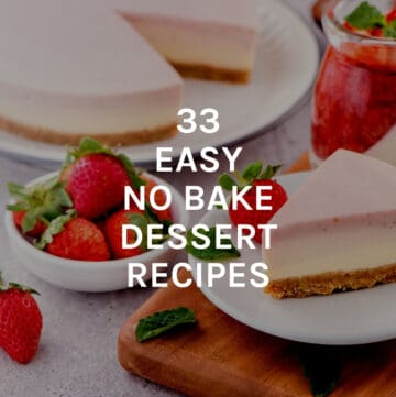 easy no bake desserts featured image