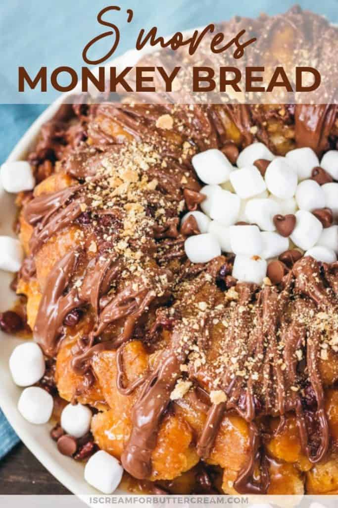 Smores monkey bread pin graphic 1