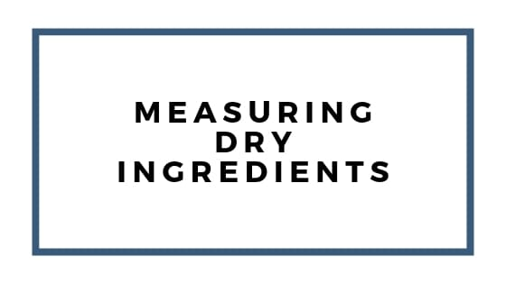measuring dry ingredients graphics
