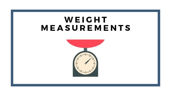 weight measurements