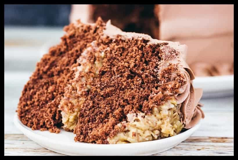 German Chocolate Layer Cake Featured Image