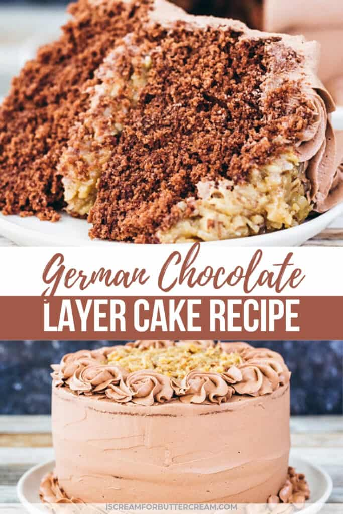 german chocolate layer cake pin graphic 1