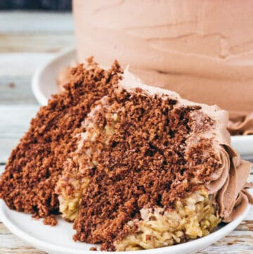 german chocolate cake featured image