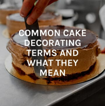 common cake dec terms featured image