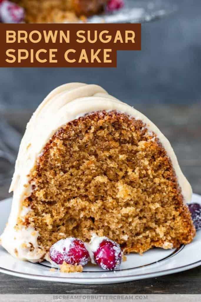 Brown Sugar Spice Cake pin graphic 3