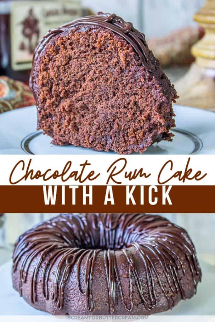 chocolate rum cake pin graphic 1