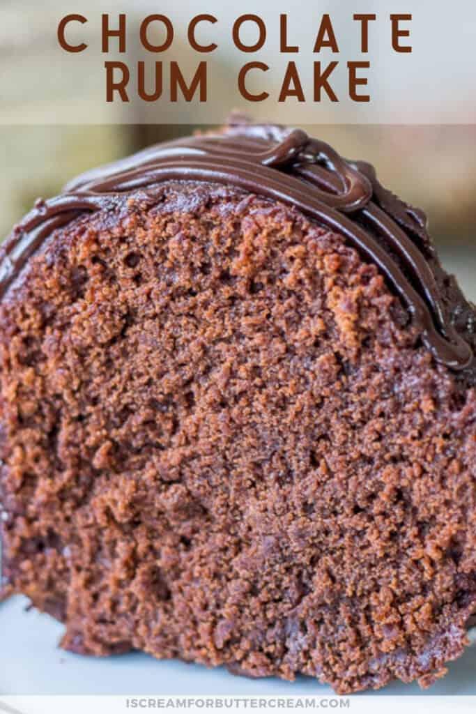 chocolate rum cake pin graphic 3