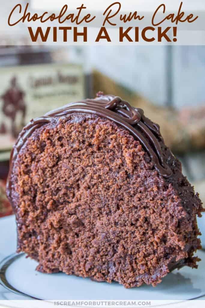 chocolate rum cake pin graphic 2
