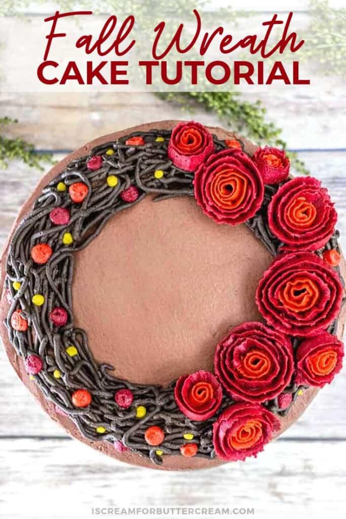 Fall wreath cake new pin graphic 2
