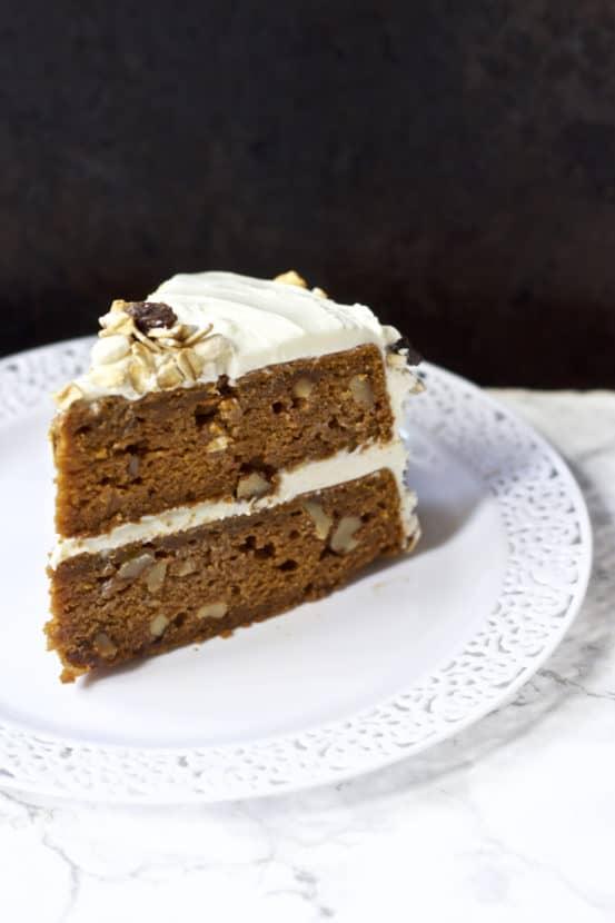 Pumpkin Spice Walnut Cake