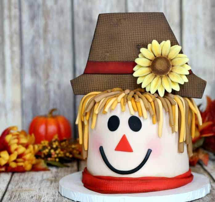 How to Make A Scarecrow Cake