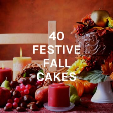 festive fall cakes featured image