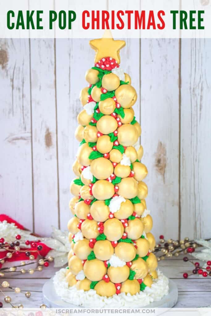 cake pop christmas tree pin graphic 1