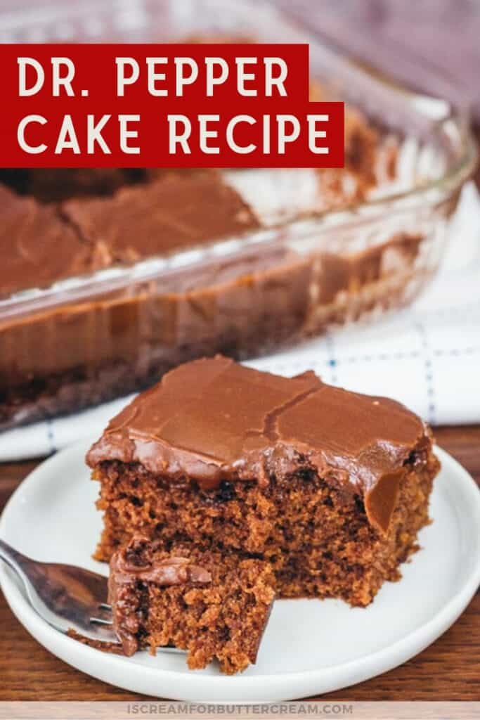 dr pepper cake recipe pin graphic 3