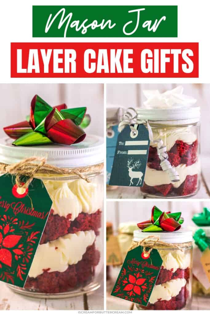 easy mason jar layer cake gifts pin graphic 2