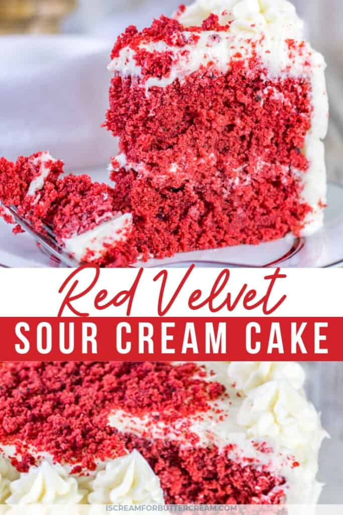 red velvet sour cream cake pin graphic 1