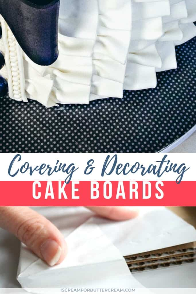tips for cake boards new pin graphic 2