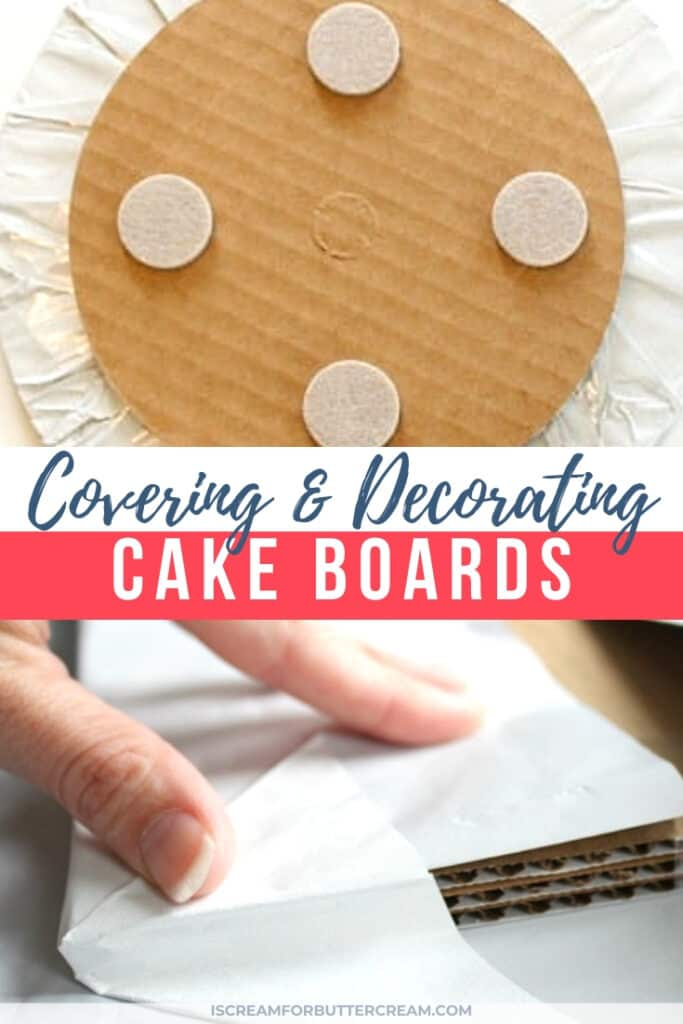 tips for cake boards new pin graphic 1