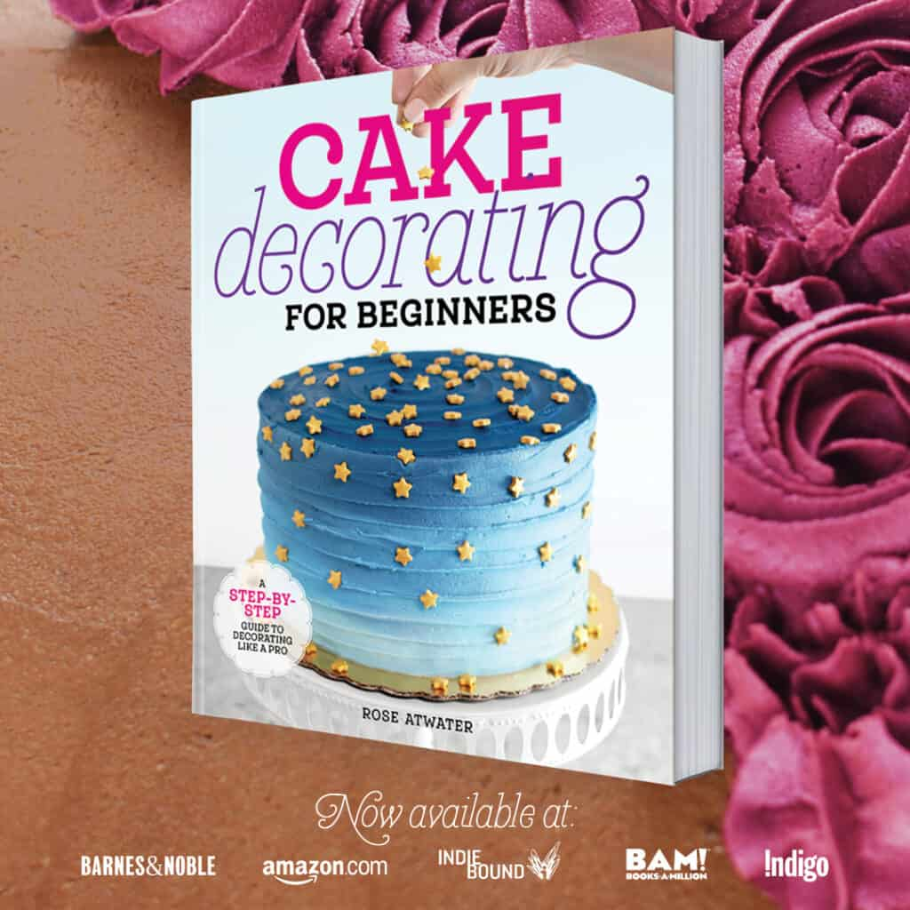 cake decorating for beginners book graphic 2