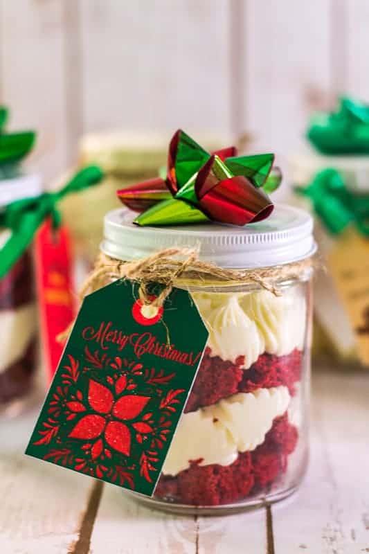 easy mason jar layer cakes