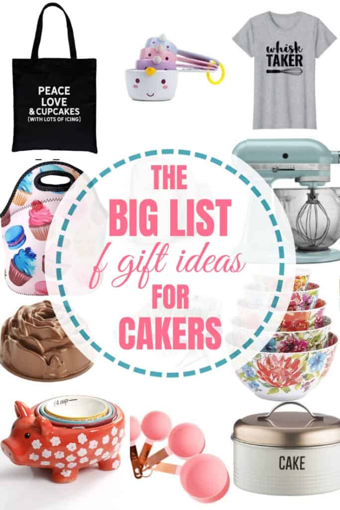gift guide for bakers pin graphic 1