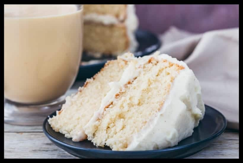 Spiced Eggnog Cake Featured Image