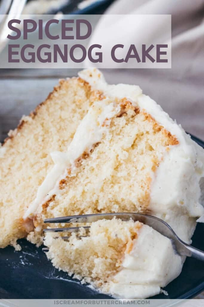 spiced eggnog cake pin graphic 2